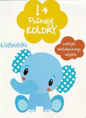 1+ Poznaję kolory. - Opracowaniezbiorowe - Książki Książki dla dzieci