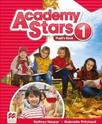 Academy Stars 1 PB + kod online MACMILLAN - HarperKathryn, PritchardGabrielle - Książki Książki do nauki języka obcego
