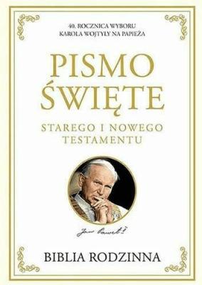 Biblia rodzinna - ST i NT - praca zbiorowa - Książki Religioznawstwo, nauki teologiczne