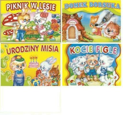(142) Ksiazeczka do czytania MINI MIX - praca zbiorowa - Książki Książki dla dzieci