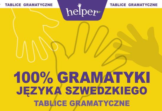 100% Gramatyki j.szwedzkiego Tablice w.2013 KRAM - KasperekSzymon - Książki Książki do nauki języka obcego