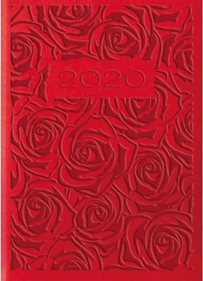 Kalendarz 2020 Tygodniowy A7 Vivella Czerweń 01T09 - Lucrum - Książki Kalendarze, gadżety i akcesoria