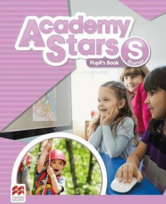 Academy Stars Starter PB + kod online MACMILLAN - PerrettJeanne - Książki Książki do nauki języka obcego