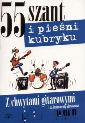 55 szant i pieśni kubryku - Opracowaniezbiorowe - Książki Poradniki i albumy