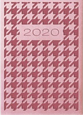Kalendarz 2020 Tygodniowy A7 Vivella Róż 01T18 - Lucrum - Książki Kalendarze, gadżety i akcesoria