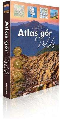 Atlas gór Polski. Szczyty w zasięgu ręki - Opracowaniezbiorowe - Książki Mapy, przewodniki, książki podróżnicze