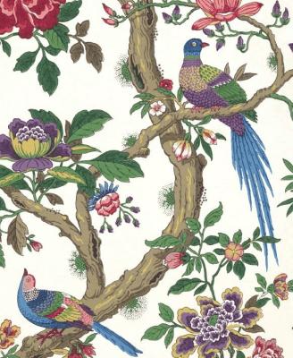 Karnet 17x14cm z kopertą Chinese Magpie wallpaper - Museums & Galleries - Książki Kalendarze, gadżety i akcesoria