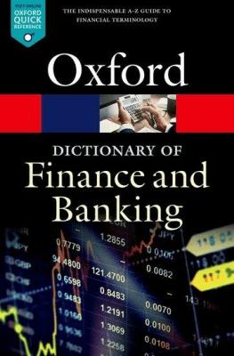 A Dictionary of Finance and Banking OXFORD - LawJonathan - Książki Książki do nauki języka obcego
