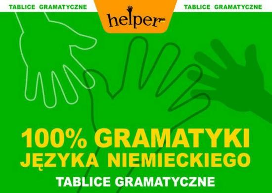 100% Gramatyki j.niemieckiego Tablice KRAM - BiałekAneta - Książki Książki do nauki języka obcego
