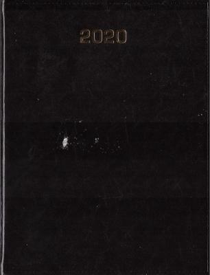 Kalendarz 2020 Tygodniowy A4 Baladek czarny ANIEW - Aniew - Książki Kalendarze, gadżety i akcesoria
