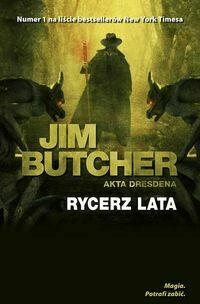Akta Dresdena Rycerz lata - ButcherJim - Książki Literatura piękna
